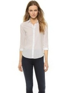 James Perse Classic Button Down Shirt