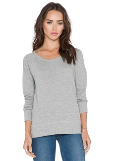 James Perse Classic Raglan Sweatshirt
