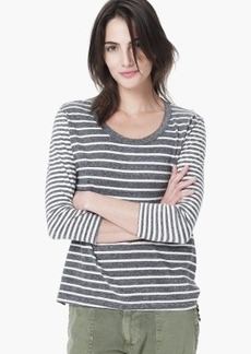 James Perse COLLAGE STRIPE TOP