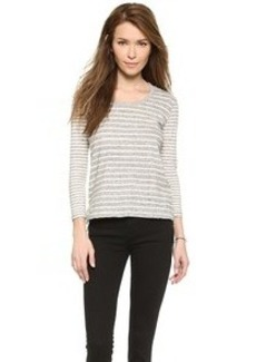 James Perse Collage Striped Top