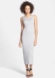 James Perse Cotton & Cashmere Rib Knit Tank Dress