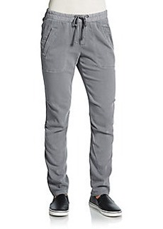 James Perse Cotton Blend Track Pants