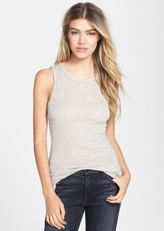 James Perse Cotton Cashmere Skinny Tank