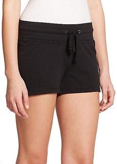 James Perse Cotton Drawstring Shorts