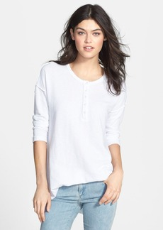 James Perse Cotton Henley Tunic