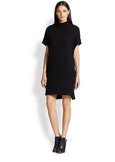 James Perse Cotton Jersey Dolman-Sleeved Dress