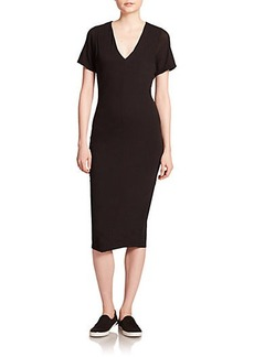 James Perse Cotton Jersey Dress