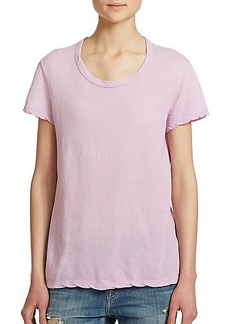 James Perse Cotton Jersey Tee