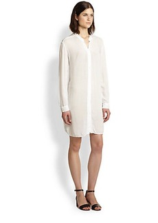 James Perse Cotton Shirtdress