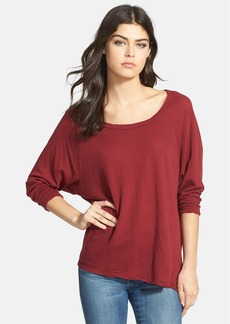 James Perse Crepe Jersey Dolman Sleeve Tunic