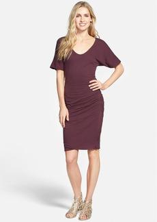James Perse Crepe Jersey Dress