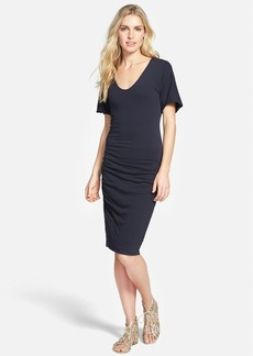 James Perse Crepe Jersey Dress