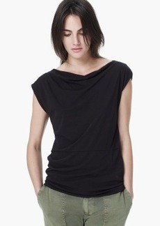 James Perse DRAPED SHELL TOP