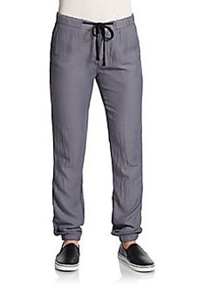 James Perse Draped Twill Track Pants