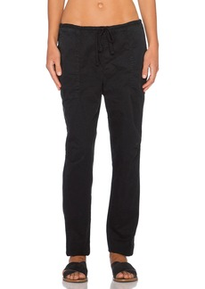 James Perse Drawstring Boyfriend Pant