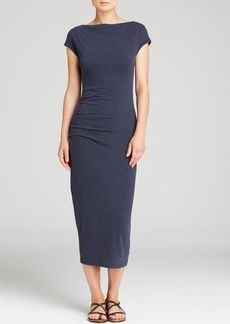 James Perse Dress - Jersey Tucked