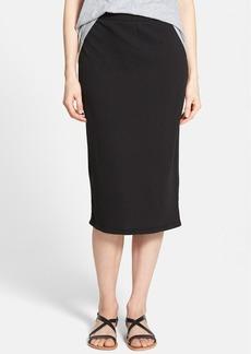 James Perse Fleece Midi Skirt