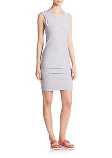 James Perse Gathered Jersey Body-Con Dress