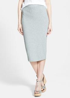 James Perse Heather Terry Midi Skirt
