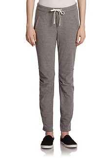 James Perse Heathered Drawstring Sweatpants