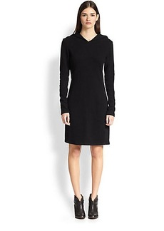James Perse Hooded Jersey Dress