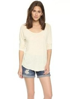 James Perse Inside Out Raglan Tee