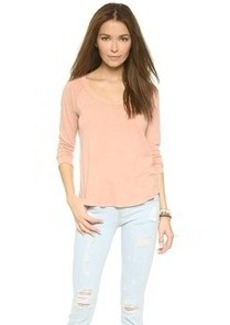 James Perse Inside Out Raglan Top