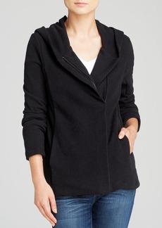 James Perse Jacket - Hooded Fleece Zip