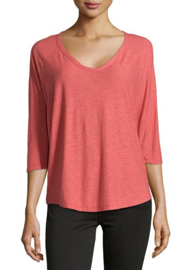 James perse james perse jersey baseball style tee casual for James perse t shirts sale