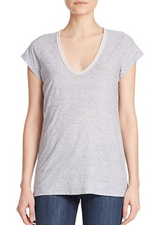 James Perse Jersey V-Neck Tee
