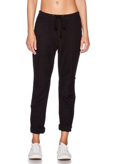 James Perse Knit Twill Utility Pant