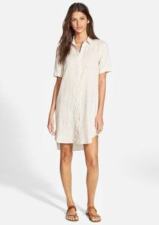 James Perse Linen Shirtdress