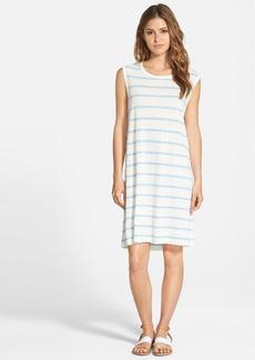 James Perse Linen Stripe Sun Dress