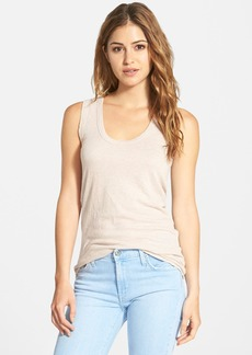 James Perse Narrow Scoop Neck Tank