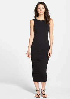 James Perse Open Back Skinny Maxi Dress