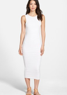 James Perse Open Back Skinny Maxi Dress