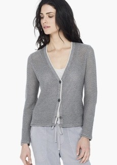 James Perse OPEN WEAVE CARDIGAN