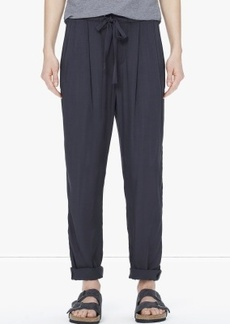 James Perse PLEATED SLOUCH PANT