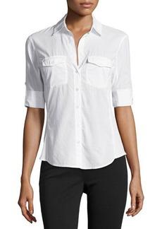 James Perse Poplin Button-Down Shirt