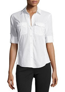 James Perse Poplin Button-Down Shirt