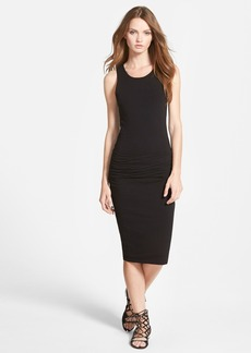 James Perse Ruched Sleeveless Dress