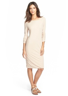 James Perse Scoop Back Dress
