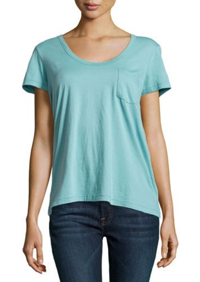 James perse james perse short sleeve pocket tee casual for James perse t shirts sale