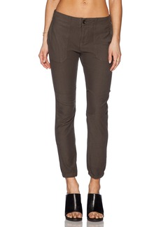 James Perse Slim Knit Twill Utility Pant