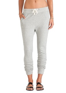 James Perse Slim Sweatpant in Grey