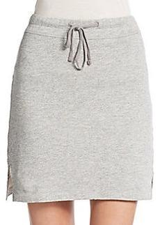 James Perse Slit Drawstring Skirt
