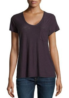 James Perse Slub Jersey Tee, Fig