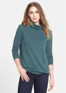 James Perse Soft Funnel Sweatshirt Top