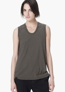James Perse SPACED JERSEY TANK