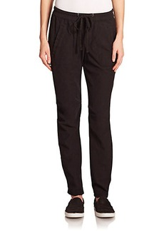 James Perse Knit Twill Utility Pants